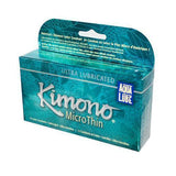 Mayer Laboratories Kimono Condom MicroThin Aqua Lube (1x12 Condoms)