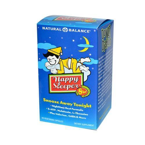 Natural Balance Happy Sleeper (60 Veg Capsules)