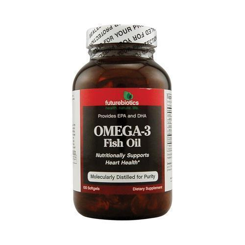 FutureBiotics Omega-3 Fish Oil (100 Softgels)