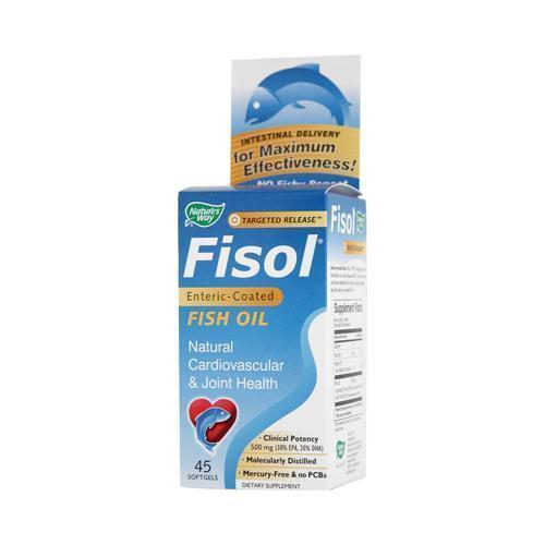 Nature's Way Fisol Fish Oil 45 Softgels