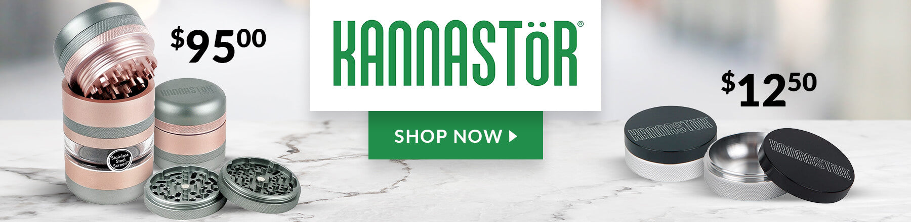Kannastor Grinders On Sale