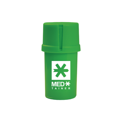 Solid Green Medtainer