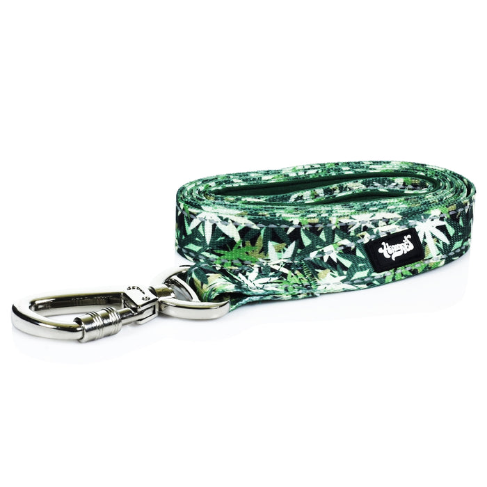 Dog-Leash-Marijuana-Leaf-Green-Leaf