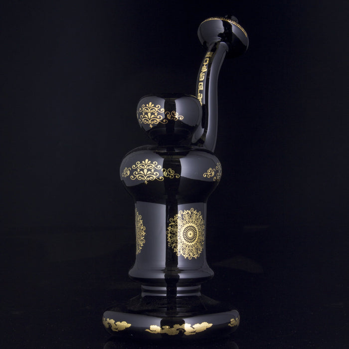 "The China Glass ""Genghis"" Standing Bubbler"