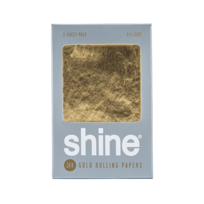 Shine 24k Gold Papers - 2 Sheet - 1 1/4 Size (36 Packs)