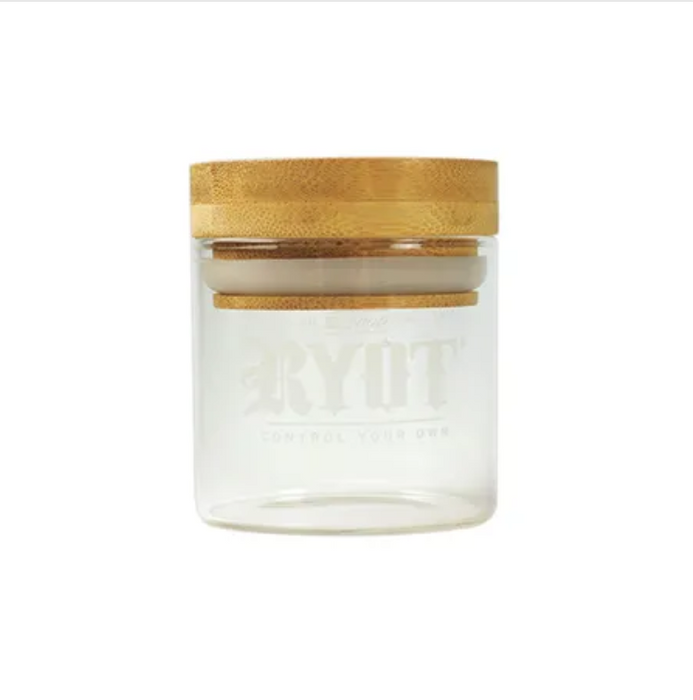 Airtight glass Weed Jar