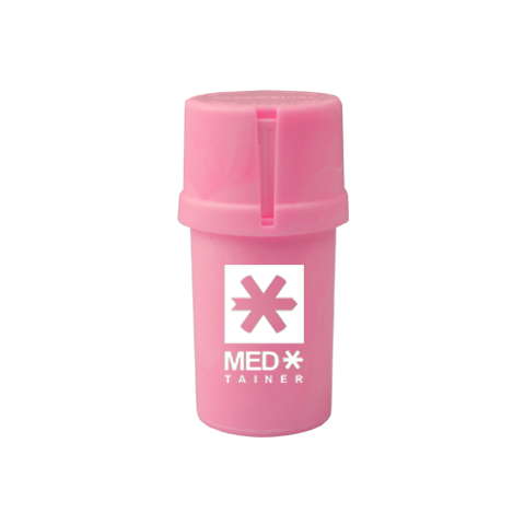 Solid Pink Medtainer