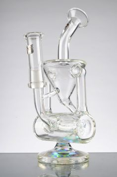 """The Hammerhead"" Double Percolator Recycler Bong"