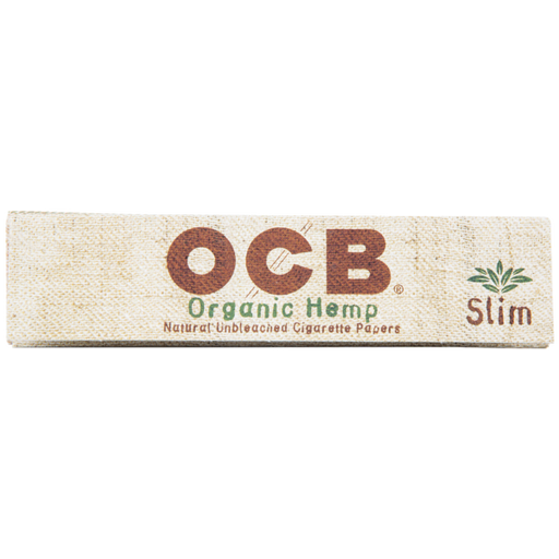 King Slim OCB Unbleached Organic Hemp 24 Pack