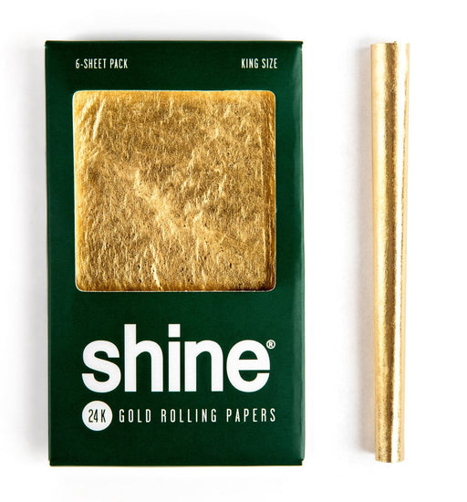 Shine 24K Gold Papers 1 Sheet Pack King Size