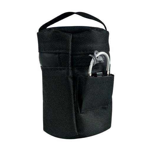 Black Cooler Jar Bag