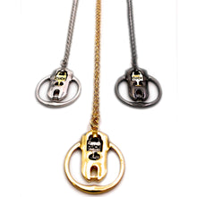 Sissy Cuckold Cuck Locked Up Chastity Charm Necklace - Cuckold Jewelry