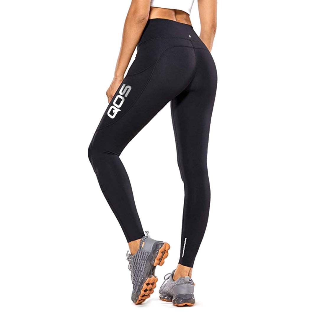 Black - QOS Label Leggings - Sexy Original Queen Of Spades edition
