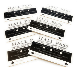 THE ULTIMATE HALL PASS CARD - Make Desires Come True
