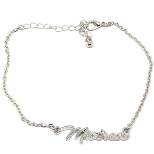 "QOS - Queen Of Spades - ""Mistress"" Goddess Vixen Chain Anklet"