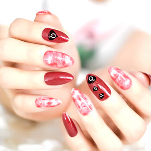 QOS BRANDED - 68pcs Queen Of Spades 3D Nail Sticker Set