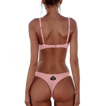 QOS Brazilian Bikini Push up Bra - Rose Baby