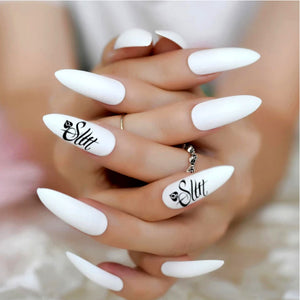 QOS SLUT - 62pcs Queen Of Spades 3D Nail Sticker Set