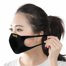 Gold QOS 3D Modern Face Mask