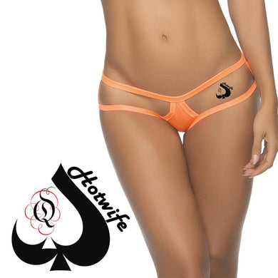 QOS - Hotwife Q-Spade - High Quality Temporary Tattoos - Black & Red