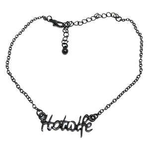 QOS - Hotwife Charm - Chain Anklets - Gld, Slvr or Blk