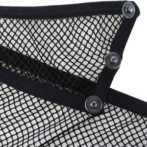 Sexy Men's Black Button Mesh Fishnet Briefs - Sissy, Top, Twink, Sugar, CD, TS, Blacked