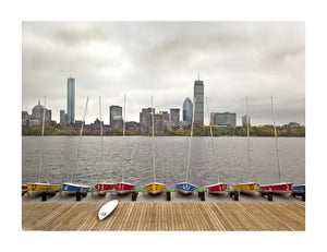 BOSTON : Boats at Rest