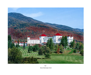 Mount Washington Hotel Collection FALL 20 x 24