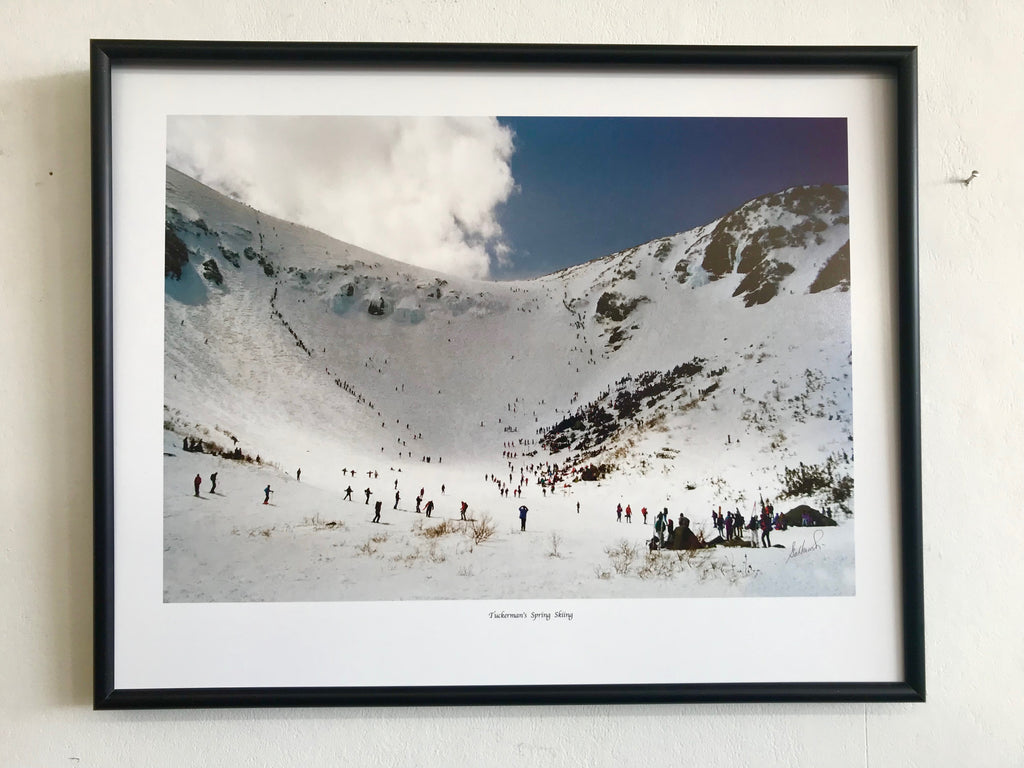 Tuckerman Ravine ORIGINAL PHOTO 16 x 20 Framed