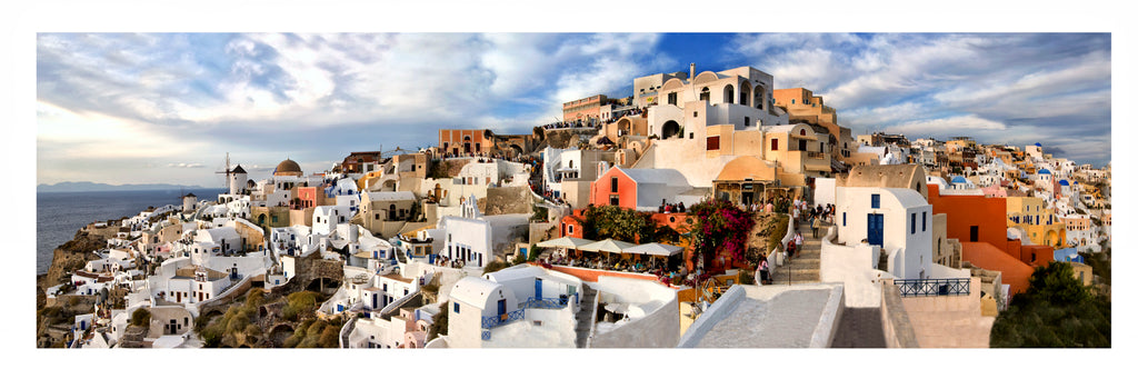 GREECE : Oia Santorini  panoramic