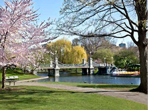 BOSTON : Spring on the Esplanade