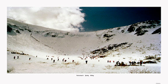 Tuckerman Ravine Spring Skiing color print 12 x 24