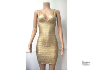 Goldman Clothing BANDAGE DRESS GOLDIE Klänningar Custom Made bandage-dress-goldie Alla produkter Bästsäljare Fest holiday Jul och nyår