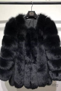 Goldman Clothing COAT FOX ALENNIA Jackor Custom Made kopia-av-coat-fox-alennia Alla produkter Jackor Nytt Vinter kr4999.00