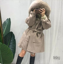 Goldman Clothing COAT FOX & WOOL ELLA Jackor Custom Made coat-fox-wool-ella Alla produkter Bästsäljare Jackor Nytt Vinter kr3299.00