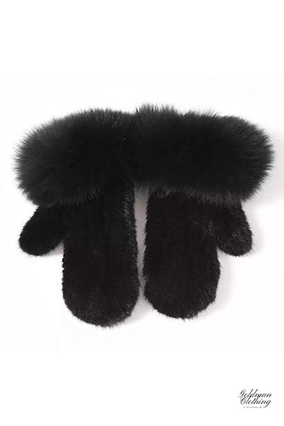 Goldman Clothing GLOVES MINK & FOX PUFF Handskar Custom Made gloves-mink-fox-puff Accessoarer Alla produkter Nytt Vinter kr2499.00