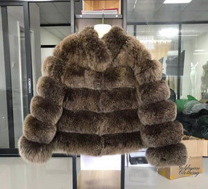 Goldman Clothing JACKET FOXFUR Jackor Custom Made jacket-foxfur Alla produkter holiday Höstkollektion Jackor Nytt kr5999.00