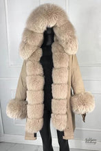 Goldman Clothing PARKAS FOX ALL BEIGE Jackor Custom Made parkas-fox-all-beige Alla produkter Jackor Nytt Vinter kr4399.00