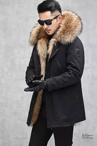 Goldman Clothing Menswear PARKAS LION NATURAL RACOON Jackor Custom Made parkas-lion-natural-racoon Alla produkter Jackor menswear Nytt