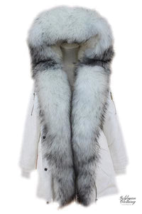 Goldman Clothing PARKAS SNOWWHITE FOX FUR Jackor Custom Made parkas-snowwhite-fox-fur Alla produkter Jackor Nytt Vinter kr4999.00