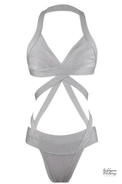 Goldman Clothing SWIMSUIT BANDAGE WHITNEY Badkläder Custom Made swimsuit-bandage-whitney Alla produkter Nytt Sommar kr699.00