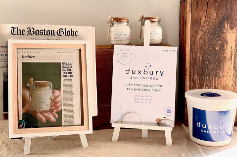 The experts agree - Duxbury Saltworks sea salt stands a tide apart!