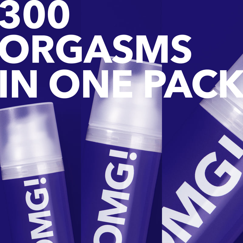 300 ORGASMS IN 1 PACK (3x50ml)