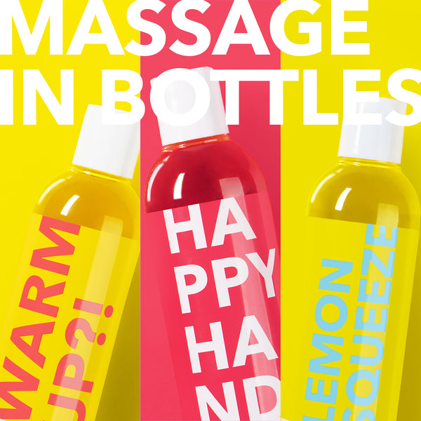 MASSAGE IN BOTTLES (3er-Set)