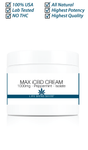 Max CBD ISOLATE Cream 1000mg (2oz) Mint THC FREE