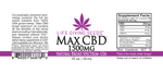 Max CBD BROAD Spectrum Oil 1500mg - 1oz (50mg/ml) THC FREE