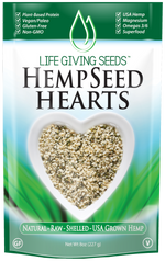 Hempseed Hearts Hemp Seed Shelled Hemp