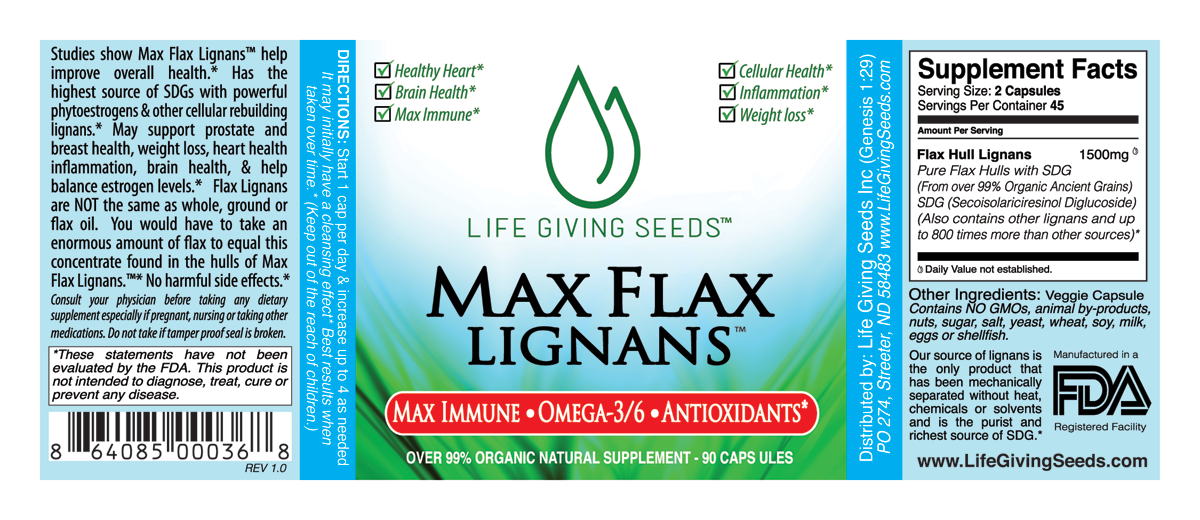 Max Flax Lignans Cheapest Top