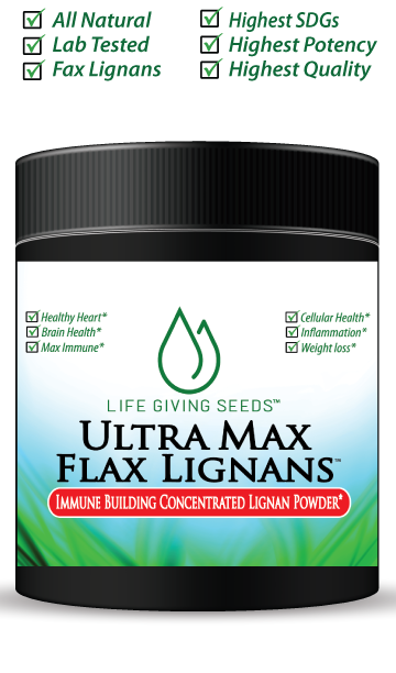 Ultra Max Flax SDG Lignans (Powder) - 1 Month