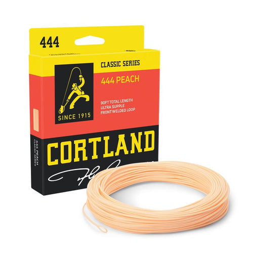 Cortland Classic Series 444 Peach Fly Line Double Taper
